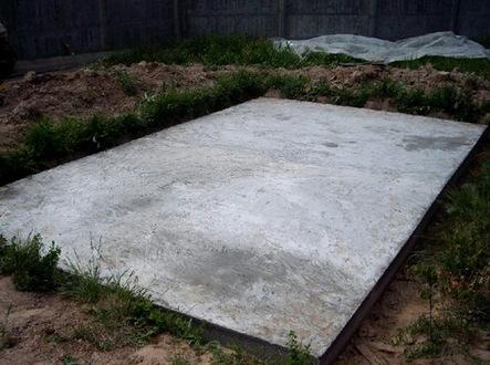 Фундамент под гараж из газобетона