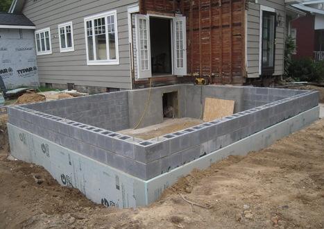 Фундамент под гараж из газосиликатных блоков