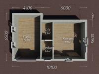Гараж с комнатой 7х8 из кирпича