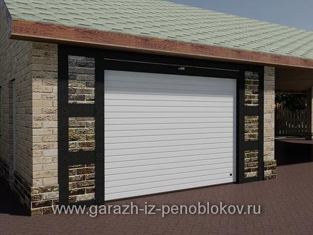 Ворота гаражные рулонные (роллетные)